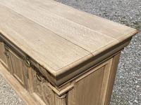 Wonderful Art Nouveau Bleached Oak Sideboard (13 of 26)
