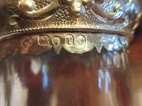 Antique Solid Silver Mounted Claret Jug (2 of 8)