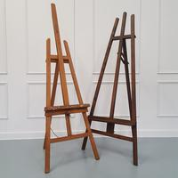 French Artist Easel made in c1950 (2 of 3)