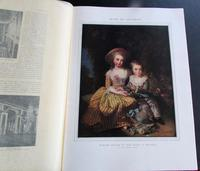 1909 Versailles French Journal.   William Morris Advert.  Folio Sized Coloured Plates (4 of 4)