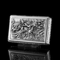 Rare Antique Georgian Solid Silver Mazeppa Snuff Box - Edward Smith 1836 (15 of 23)