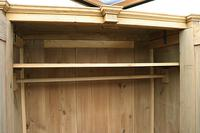 Fabulous & Large Old Pine Double 'Knock Down' Wardrobe - We Deliver! (3 of 18)