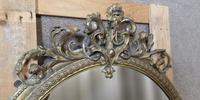 Victorian Gilt & Gesso Overmantle Mirror c.1870 (6 of 11)