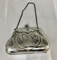 Silver Plated Evening Purse c.1913 (2 of 7)
