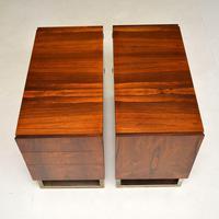 Rosewood & Brass Vintage Partners Desk (13 of 16)