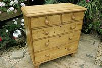 Gorgeous Old Pine Chest of Drawers (2 of 8)