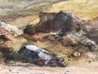 19th Century Scottish Highlands Watercolour Loch Kishorn By William Leighton Leitch (28 of 36)
