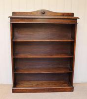 Oak Open Bookcase c.1910 (6 of 10)