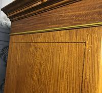 Edwardian Inlaid Satinwood Wardrobe (10 of 30)