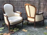 Pair of French Bergere Armchairs (8 of 10)