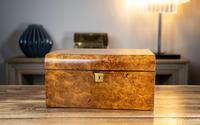 Burr Walnut Ladies/Jewellery Box 1870 (2 of 9)