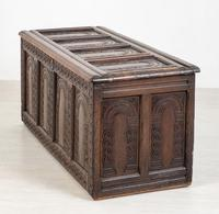 Wonderful Carved Oak Coffer (8 of 10)