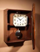 Westminster Girod Carillon Walnut, Rosewood Wall Clock French c.1940 (5 of 8)