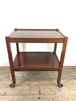 Antique Mahogany Two Tier Drinks Trolley or Tea Trolley (10 of 11)