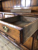 Large 20th Century Georgian Style Oak Dresser (6 of 12)