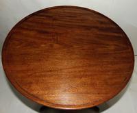 Good George III Mahogany Dish Top Tripod Table (3 of 6)