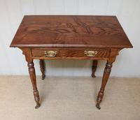 Late 19th Century Ash Side Table (4 of 10)