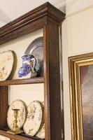 18th Century Georgian Oak Delft Rack - Wall Hanging Plate Rack (8 of 11)