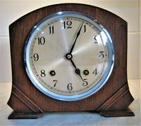 Wonderful 1940's English Chiming Mantel Clock by Garrard. (2 of 7)