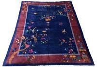 Antique Chinese Art Deco Carpet (2 of 14)