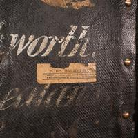 Vintage Overseas Voyage Trunk, English, Leather, Travel Case, Luggage c.1930 (9 of 12)