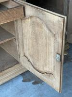 Large French Bleached Oak Enfilade or Sideboard (17 of 19)