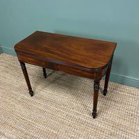 Elegant Regency Mahogany Antique Tea / Side Table (3 of 7)