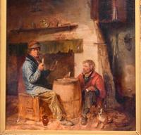 Superb oil painting by Edmund Bristow (1787-1876) (11 of 11)