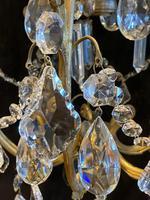 One Light Italian Open Lantern Antique Chandelier (9 of 12)