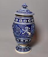 Antique Tobacco Jar, Westerwald, 19th Century (11 of 13)