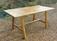 Antique Farmhouse Rustic / Industrial Table (3 of 9)