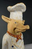 Most Amusing Early 20th Century Cast-Iron Figure of a Piglet (6 of 7)