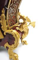 Outstanding Martinto Paris French Boulle Mantle Clock Ormolu Dragons Chinese Rider (6 of 10)