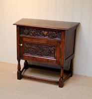 French Dark Oak Side Cabinet (5 of 10)