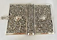 Sterling Silver Book Cover. London 1910. (6 of 8)