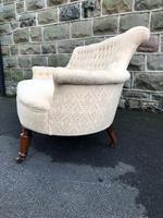 Antique English Upholstered Sofa (3 of 8)