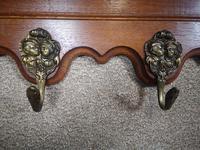 Carved Oak Continental Hanging Rack (10 of 10)