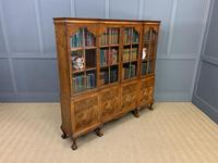 Shapland & Petter Burr Walnut Bookcase (12 of 23)
