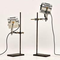 1950's Pair of Vintage Spotlights / Table Lamps (4 of 15)