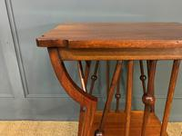 Arts & Crafts Walnut Occasional Table (5 of 6)