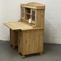Antique Pine Writing Desk (8 of 8)