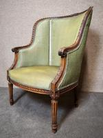 Carved Walnut French Armchair (3 of 11)