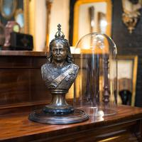 Antique Display Dome, English, Glass, Mahogany, Taxidermy, Showcase, Victorian (4 of 10)
