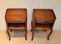 Pair of French Oak Bedside Cabinets (6 of 10)