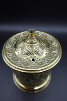 An Attractive French Cast and Engraved Desk String Box (3 of 5)
