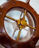 Brass & Oak Yacht Wheel (6 of 6)