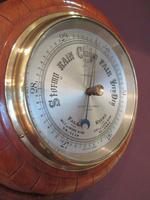 Antique Polished Mahogany Negretti & Zambra Barometer (2 of 7)