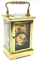 Large Classic Antique French 8-day Gong Striking Carriage Clock c.1880 (5 of 10)