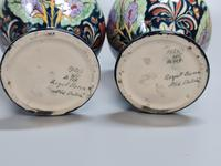 Stunning Pair of Royal Bonn Art Nouveau Vases 'Old Dutch' c.1910 (10 of 14)
