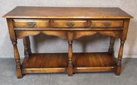 Oak Period Style Dresser Base - Royal Oak Furniture (5 of 10)